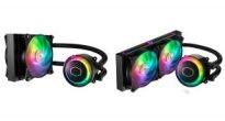 水冷クーラーも光る時代!Cooler MasterがアドレッサブルRGB LED搭載の水冷クーラーMasterLiquidシリーズの「ML120RS RGB」と「ML240RS RGB」を発売
