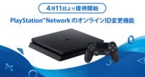 PlayStation™NetworkのオンラインID変更機能を4月11日より提供開始