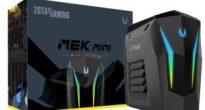 コンパクトで高性能 ZOTACの小型ゲーミングデスクトップ「MEK MINI」