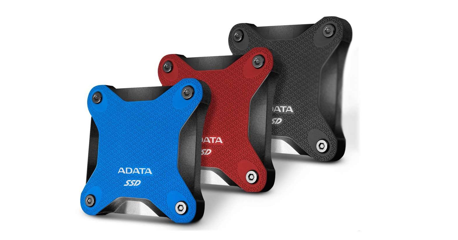 ADATAの小型ゲーミングポータブルSSDのSD600Qが日本でのみ突然発売中止