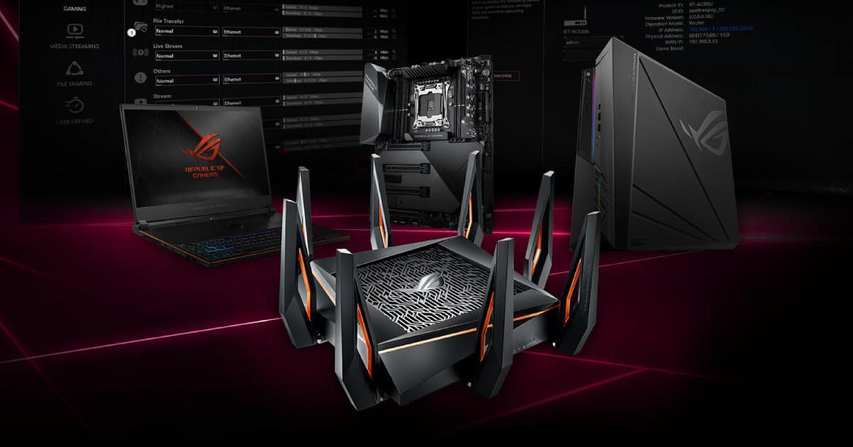 ASUSが最強ゲーミングWi-Fiルーター「ROG Rapture GT-AX11000」を発売
