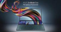 真の2画面ラップトップ!ASUSが「ZenBook Pro Duo」を発表!