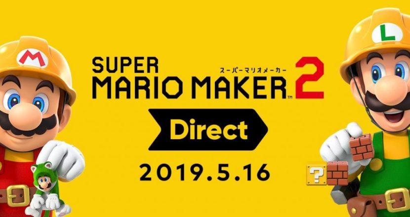 任天堂が「スーパーマリオメーカー 2 Direct 2019.5.16」を公開&新要素を発表!