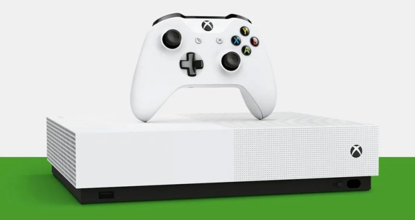 Disc-free Xbox One S 1TB All Digital Edition Now On Sale!