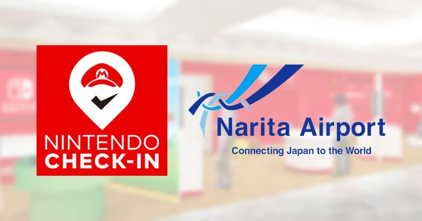 Pictures with Mario at Narita Airport! Experience Nintendo Check-In!