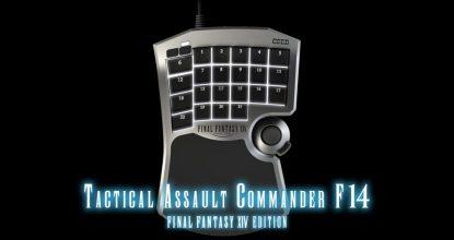 吉田直樹氏完全監修「TACTICAL ASSAULT COMMANDER F14 FINAL FANTASY XIV EDITION」の予約が開始