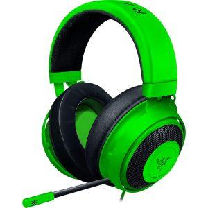 Razer Kraken Green アナログ接続 ゲーミングヘッドセット PS4 PC Switch スマートフォン 冷却ジェルパッド 【日本正規代理店保証品】