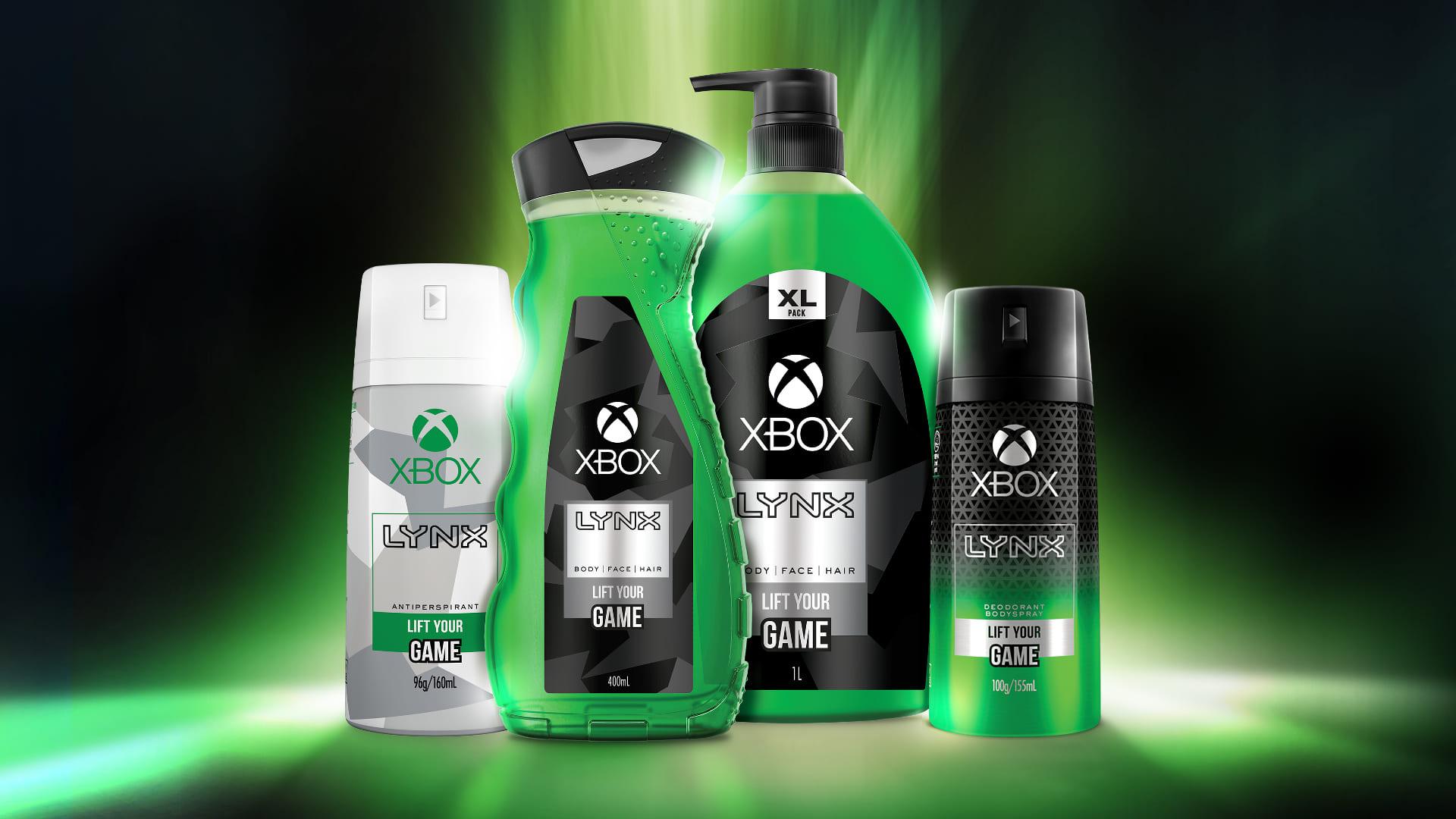 不知為何Xbox推出了身體護膚及除臭噴霧等護理商品!