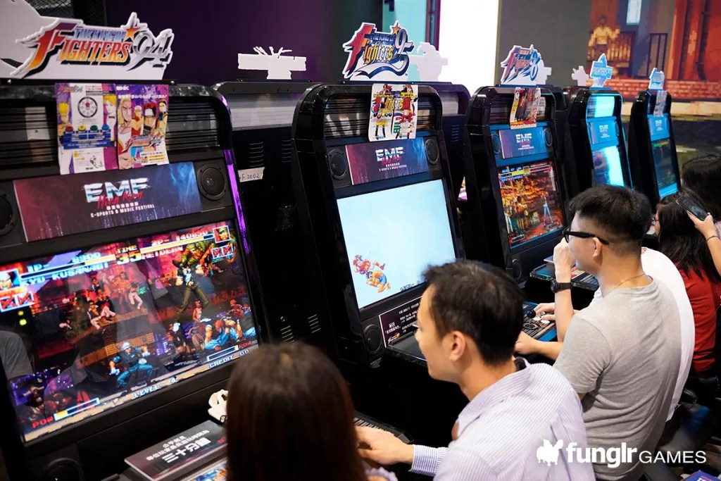RETRO FIGHTING GAME ZONE