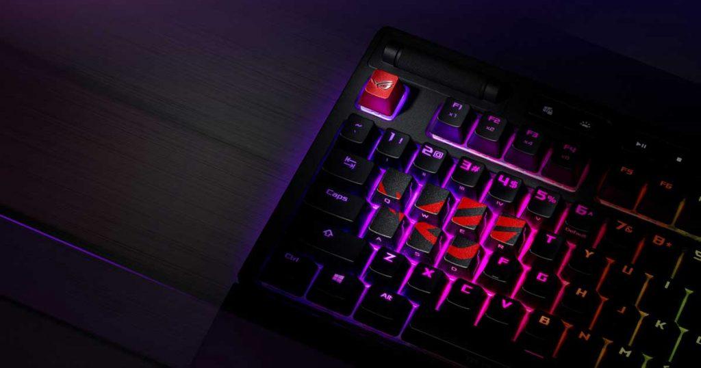 ROG Gaming Keycap Setの特徴