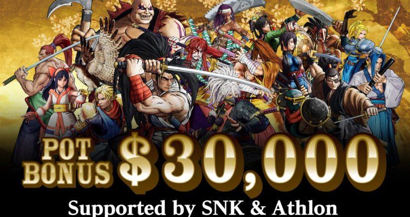 SNK發布EVO 2019的「SAMURAI SPIRITS」大賽獎金為美金$30,000!