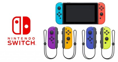 Nintendo Switchの新モデルが突如発表!バッテリーがより長持ちに!さらにJoy-Conの新色も登場!