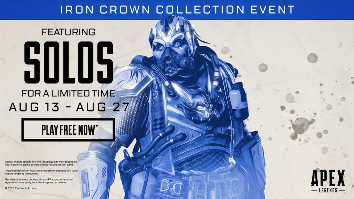 人気バトルロワイヤルFPS「Apex Legends」に期間限定でソロモードが登場!