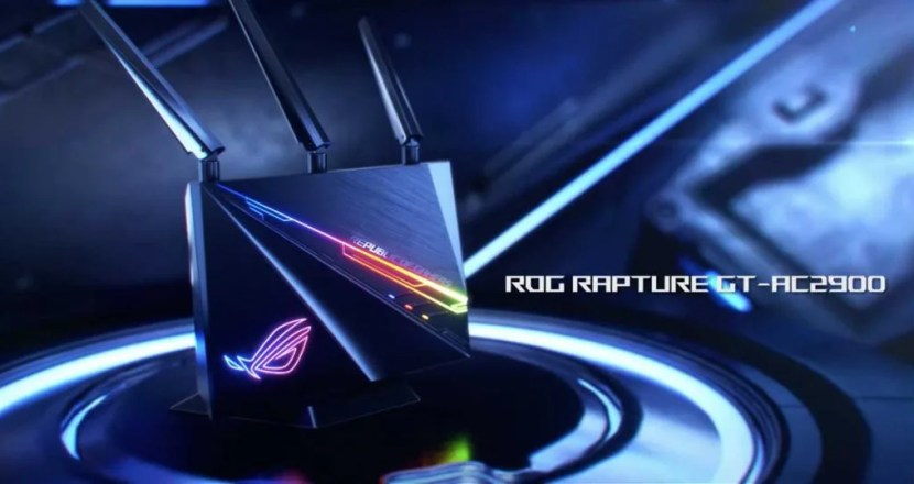 令和はルーターも光る時代!ASUS「ROG Rapture GT-AC2900」発表!