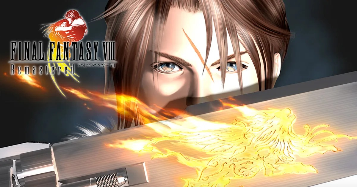 Final Fantasy VIII Release Date Announced! Pre-Order Now!
