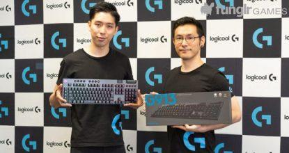 ロジクールからハイエンド・薄型ゲーミングキーボード「G913」「G813」を発表