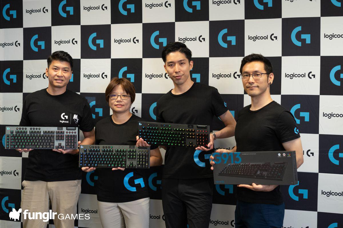 左からAlan Lu氏、Cate Wu氏、岸大河氏、伊達玄四郎氏