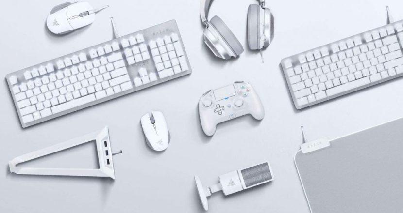 Razerのゲーミングデバイスに新色「マーキュリーホワイト」が登場
