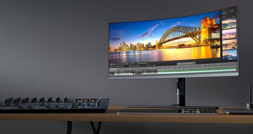 ASUS ProArtシリーズのクリエイター&ライトゲーマー向けモニター「ProArt PA34VC 」を発表!