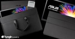有機ELパネル採用のポータブルディスプレイ ASUS「ProArt PQ22UC」発売!