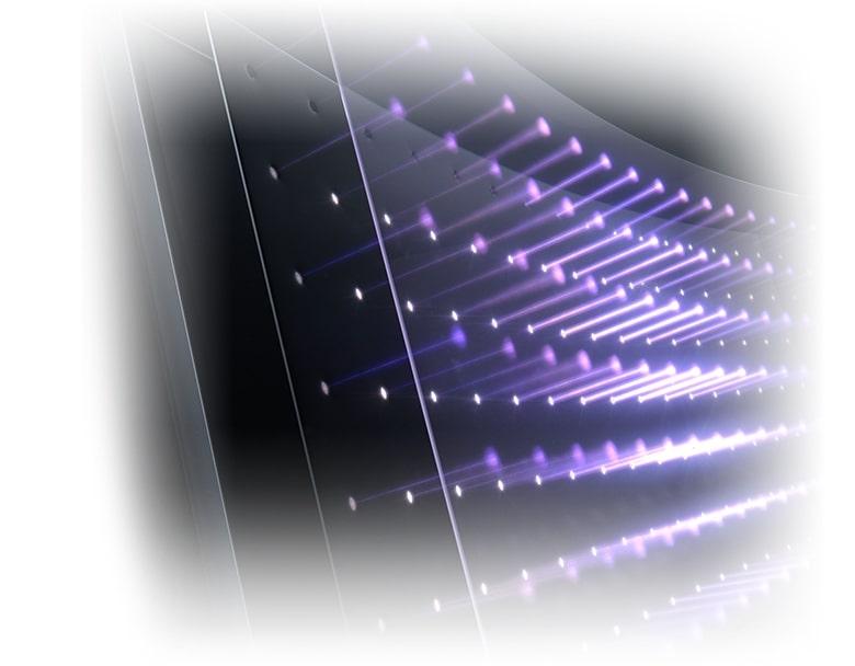 フルアレイ・ローカルディミング (FALD) LED バックライト