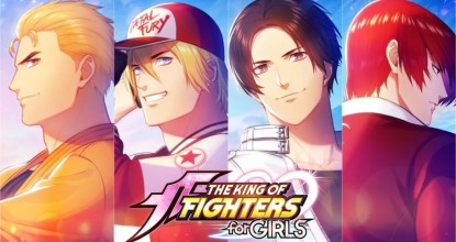 SNK渾身の乙女ゲー「THE KING OF FIGHTERS for GIRLS」の事前登録がスタート!