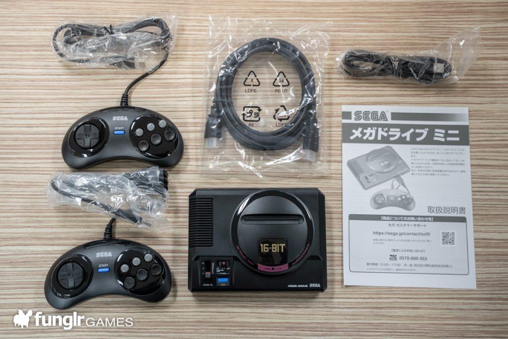 Mega Drive Mini Package Contents