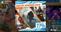 真夏のピークが去ったのでPS4三昧!PS Storeで最大77%オフの「END OF SUMMER SALE」開催中!