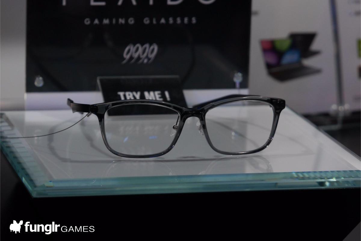 一見普通のメガネな「PLAYIDe」
