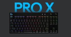 キースイッチ交換対応テンキーレスキーボード「Logicool G PRO X Gaming Keyboard」発表!
