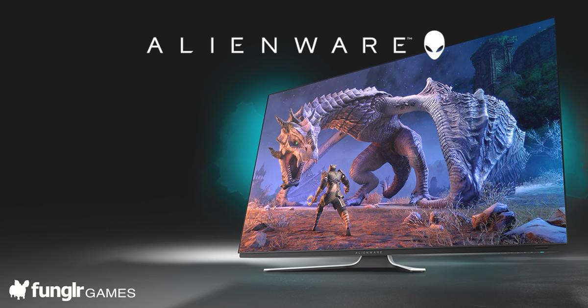 55インチOLEDゲーミングモニター Alienware「AW5520QF」
