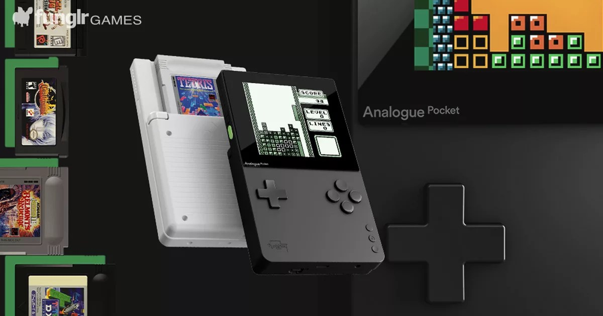 【ゲームボーイ互換】レトロ携帯ゲーム機ソフトが遊べる夢のハード「Analogue Pocket」が2020年発売!