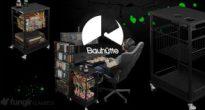 これこれ!こういうの!Bauhutteから収納力抜群のワゴン兼サイドテーブル「エナジーワゴン BHS-430EW」が発売!