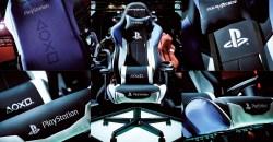 """プレステ専用ゲーミングチェア?「DXRacer RZ-90 """"PlayStation"""" Limited」発売"""