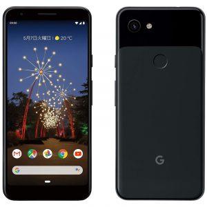 日本国内版SIMフリーGoogle Pixel 3a 64GB Clearly White