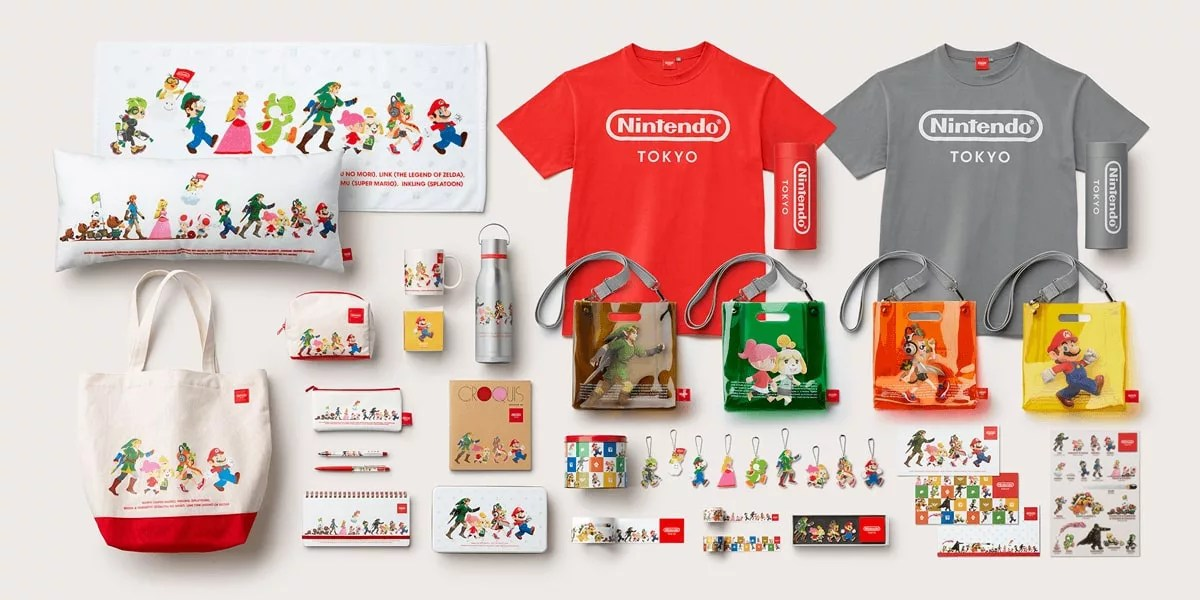 Nintendo TOKYO Original Merchandise