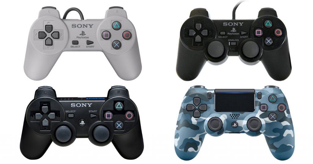 PS進化するコントローラー