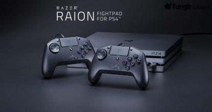 PS4格鬥遊戲專用控制器「Razer Raion」發售