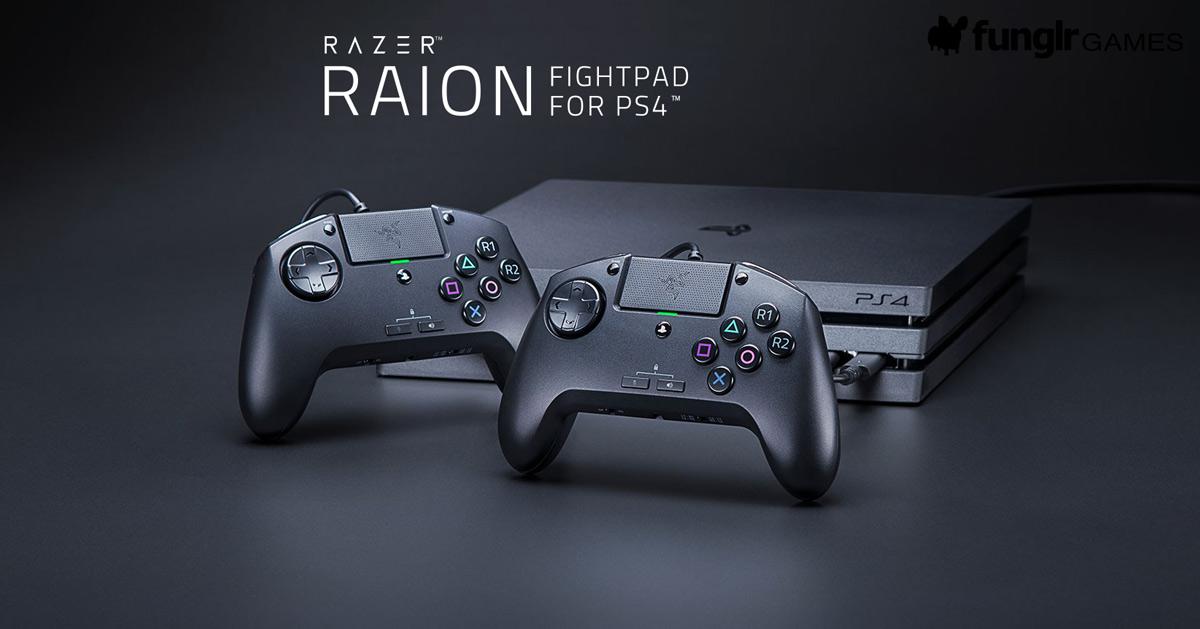 PS4向け格ゲー用ゲームコントローラ「Razer Raion」発表!