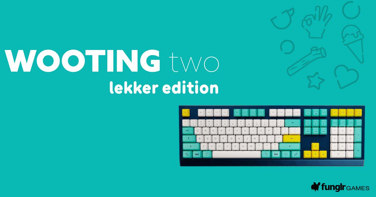 アナログ入力可能なキーボードWooting「Wooting two Lekker edition」クラウドファンディング開始中!