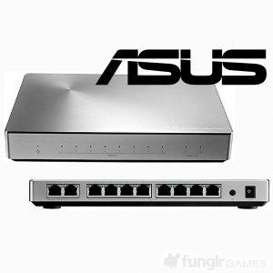 ASUS 10Gbps対応スイッチングハブ「XG-U2008」