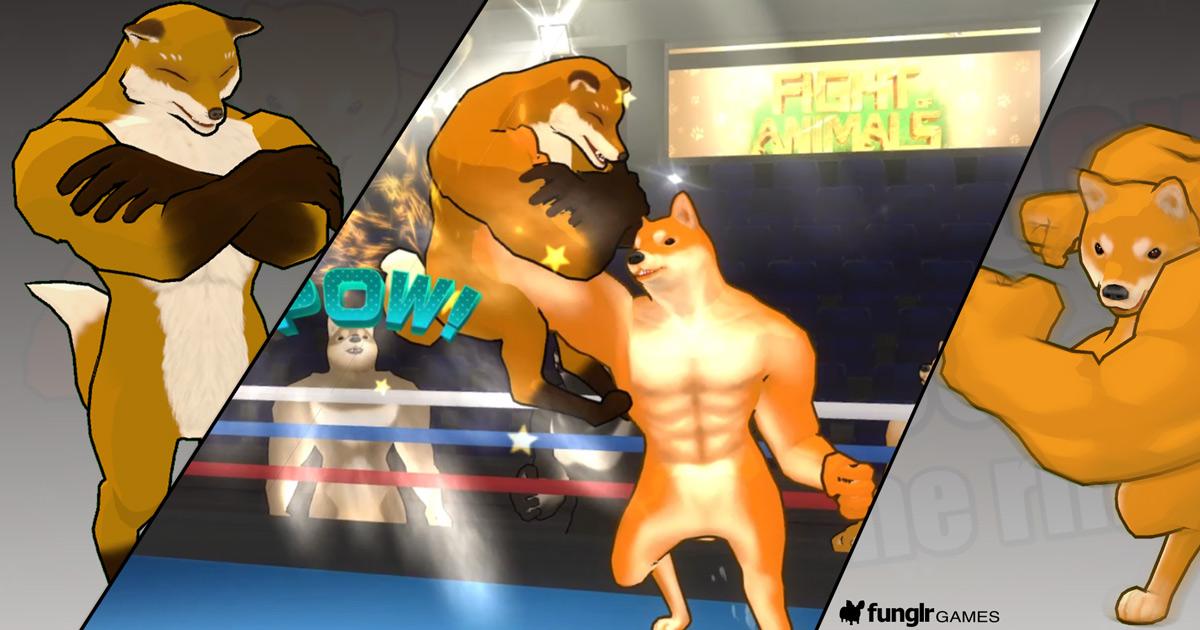 約束された犬ゲー?「Fight of Animals」発表!
