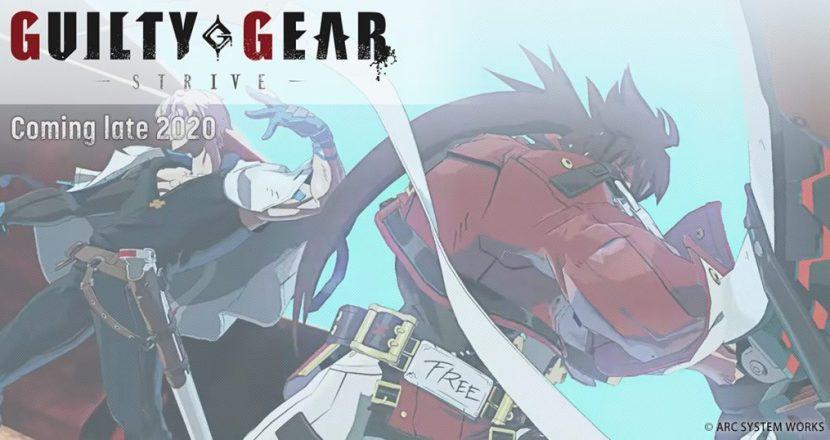 最新作タイトルは「GUILTY GEAR -STRIVE-」に決定!新PV&試遊開催も発表!