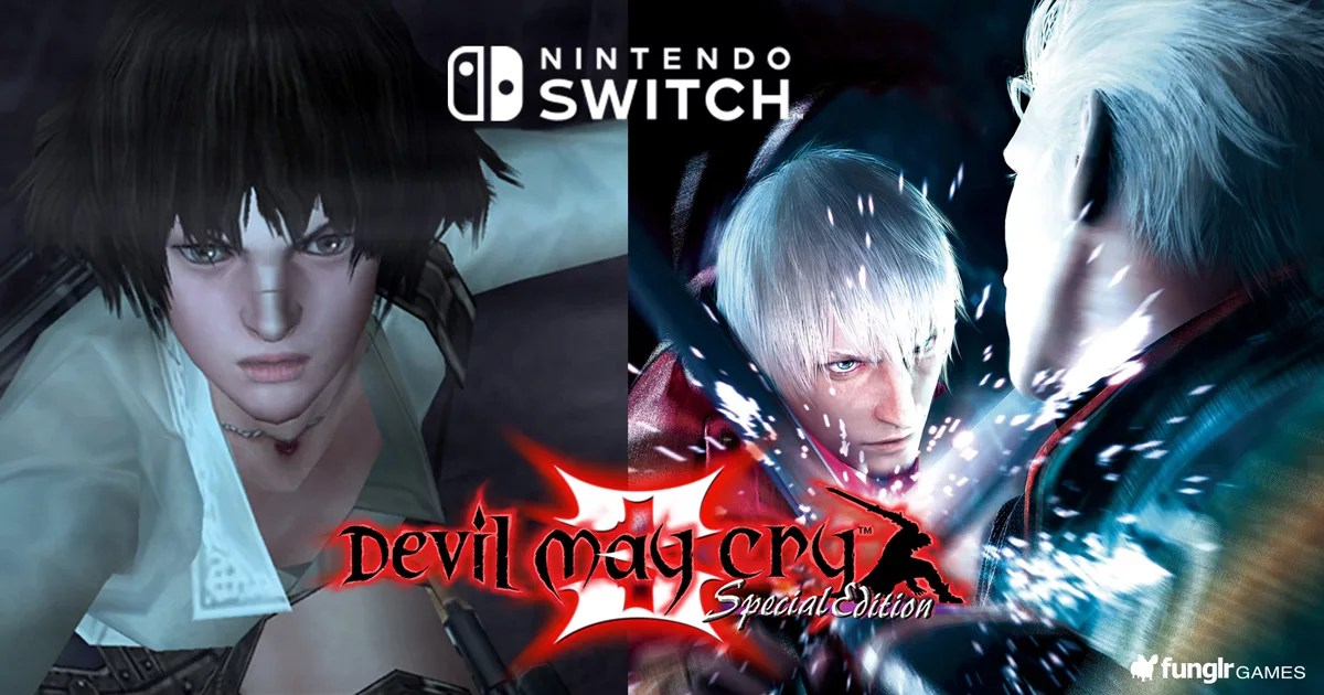 CAPCOMのスタリッシュアクション「Devil May Cry 3 Special Edition」&「Devil May Cry Triple Pack」がNintendo Switchで発売決定!