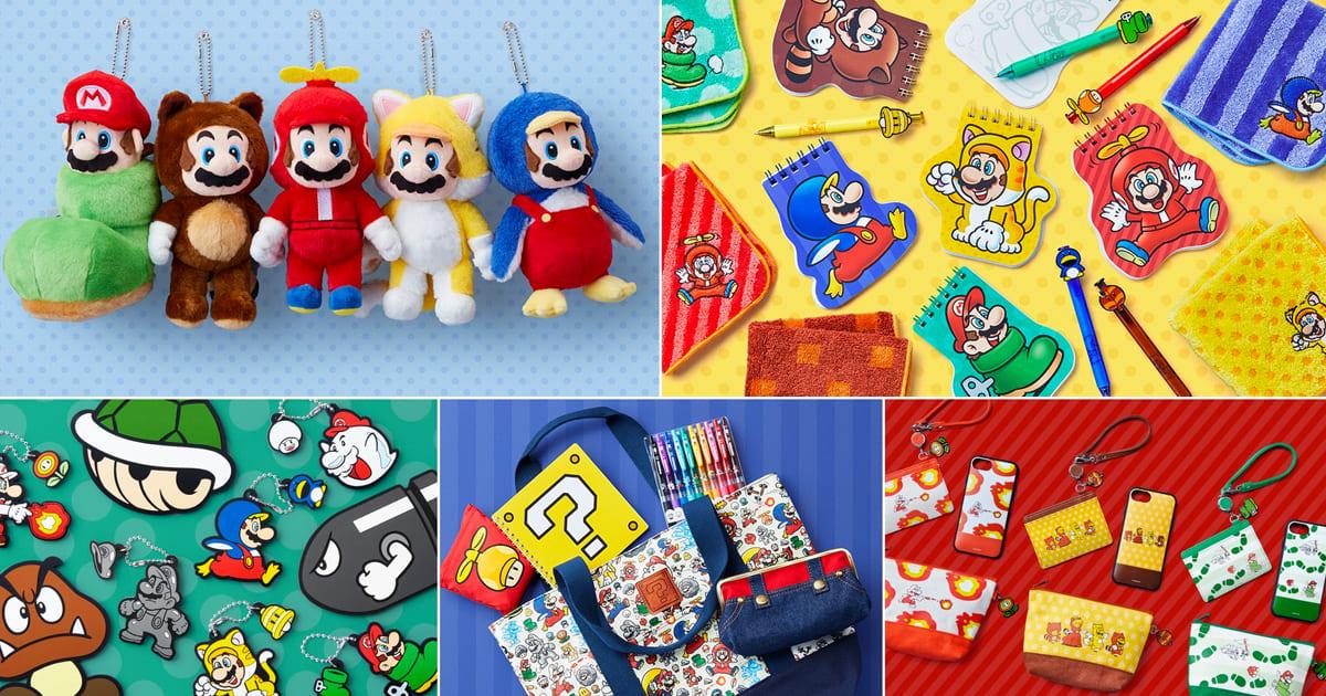 渋谷PARCOにオープン予定の「Nintendo TOKYO」オリジナルグッズ続々発表!
