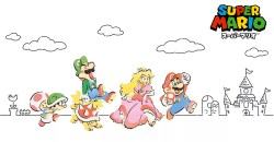 「Nintendo TOKYO」オリジナルグッズにスーパーマリオの新しいグッズが追加!