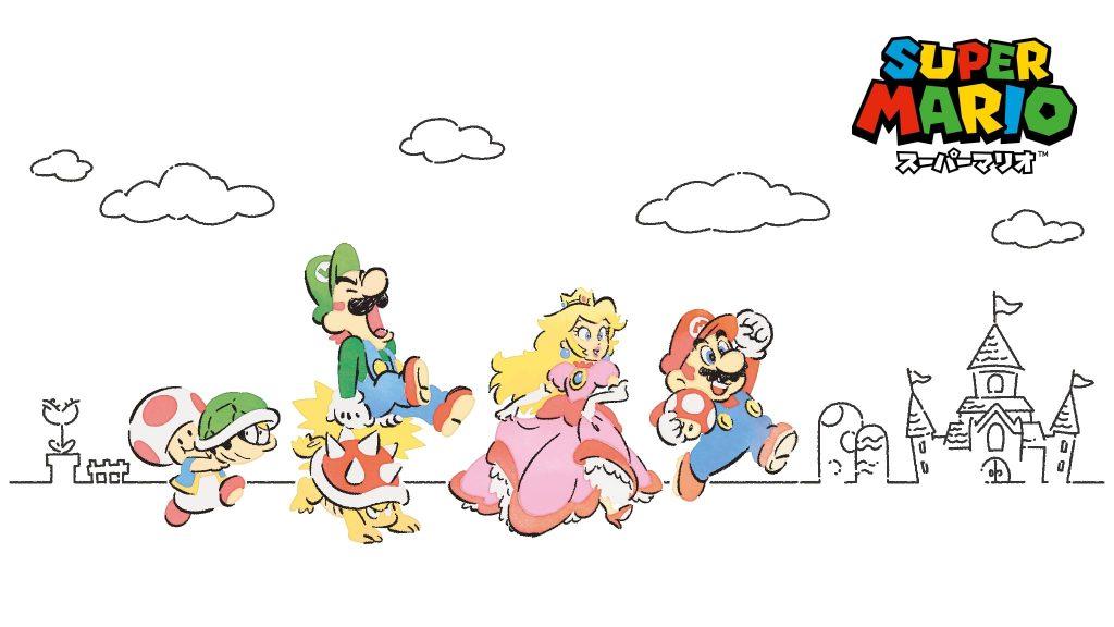 Super Mario Family Life Series