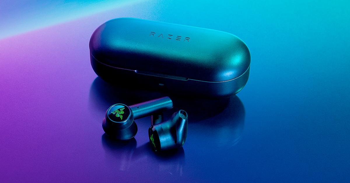 Razerから低遅延の完全独立型イヤホン「Razer Hammerhead True Wireless Earbuds」が発売