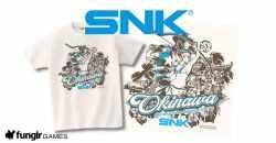SNKが首里城再建に向けたチャリティーTシャツを販売!デザイン沖縄にまつわるあのキャラクターが!