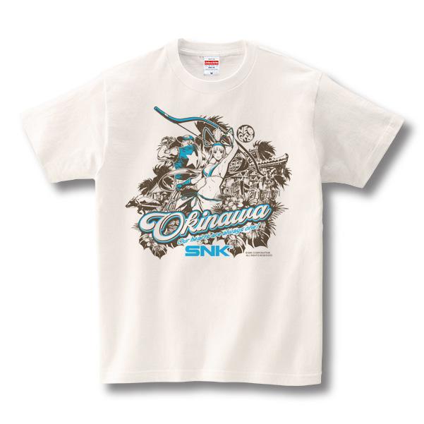 SNK×沖縄 チャリティーTシャツ